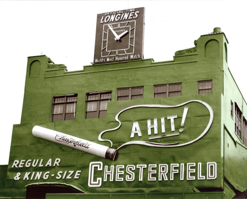 Chesterfield sign Colorized