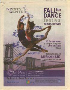 Fall for dance festival Altria