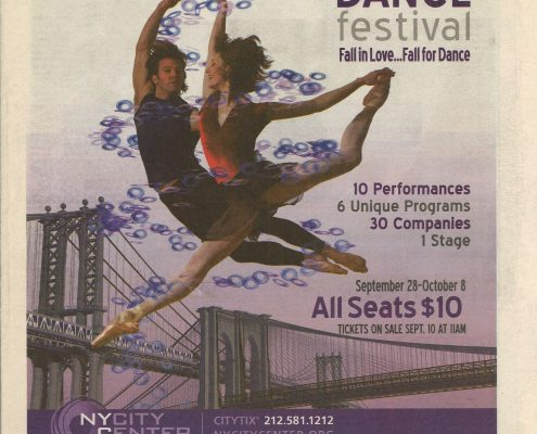 Fall for dance festival Altria