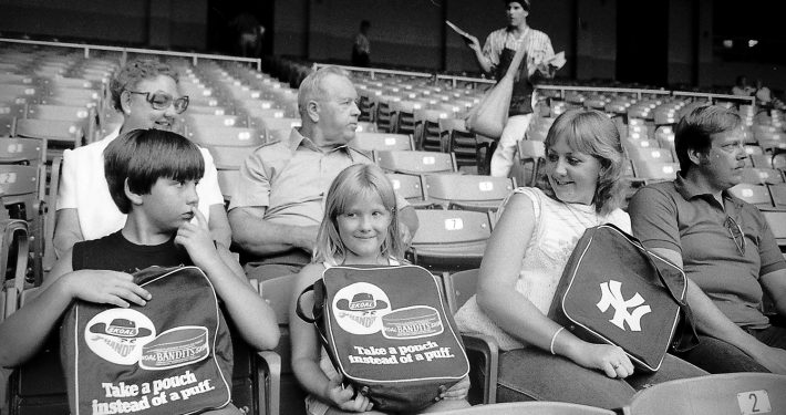 Family with Skoal Bandit items 1