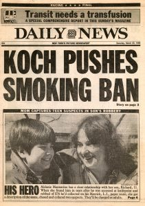 Koch Pushes Smoking Ban
