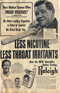 Less Nicotine Less Irritants