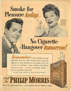Lucy and Ricky for Philip Morris