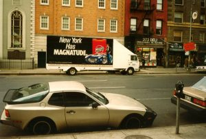 Magna ad on a truck