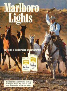Marlboro Lights Cosmo 1988