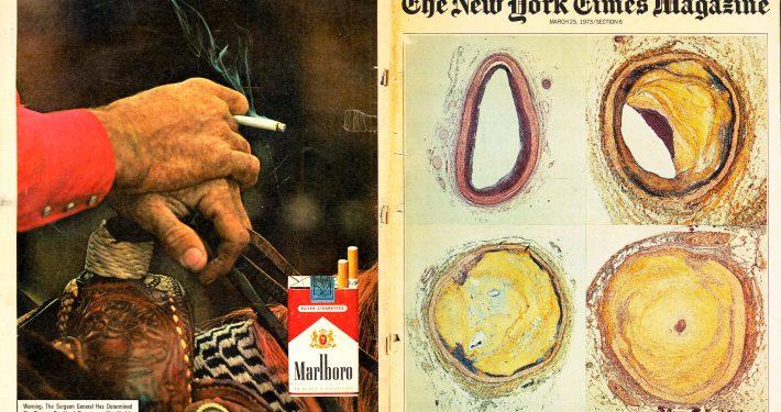 NYT Magazine Coronary Artery x Marlboro 1973  Edit