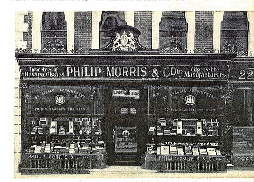 Philip Morris on Bond Street
