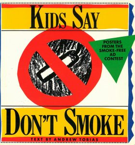 Smoke free Poster contest book