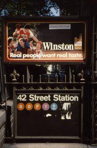 Subway Winston sign