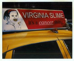 Virginia Slime taxi red