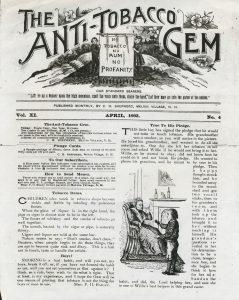 anti tobacco gem