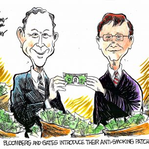 bloomberg and gates