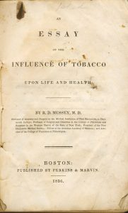 essay on influence of tobacco 1