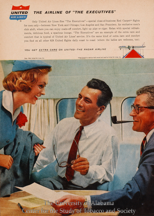 1958 United Airlines The Executives