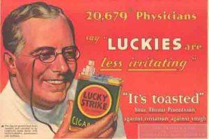 1930 Liberty Lucky Strike Ad wm
