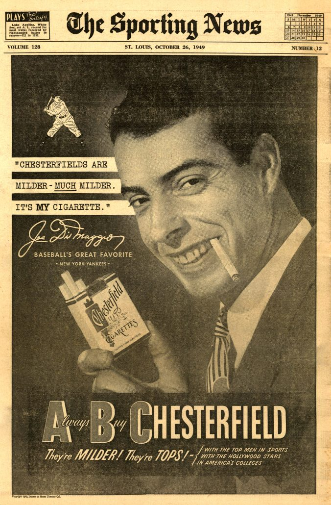 1949 Sporting News Joe DiMaggio