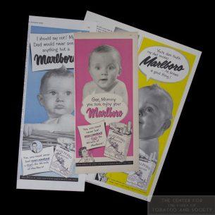1950 Marlboro Baby Ads wm