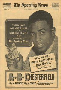 1950 Sporting News Jackie Robinson