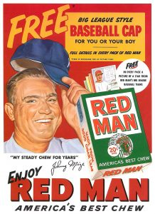 1953 Johnny Mize for Red Man