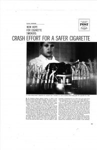 1964 04 18 Sat Eve Post Crash Effort for Safer Cig Page 2 Resize 50