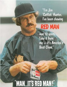 1970s Jim Hunter for Red Man
