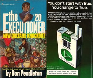 1974 The Executioner Front Cover True Ad