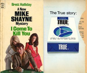 1975 I Come To Kill You Front Cover True Ad