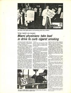 1978 AM News Miami Physicians Take Lead in Drive to Curb Cig Smoking
