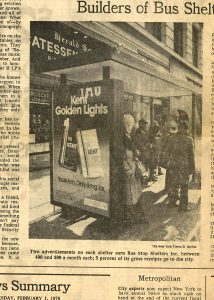 1978 Kent bus shelter