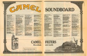 1984 Village Voice Camel spread re