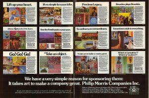 1985 It Takes Art ad