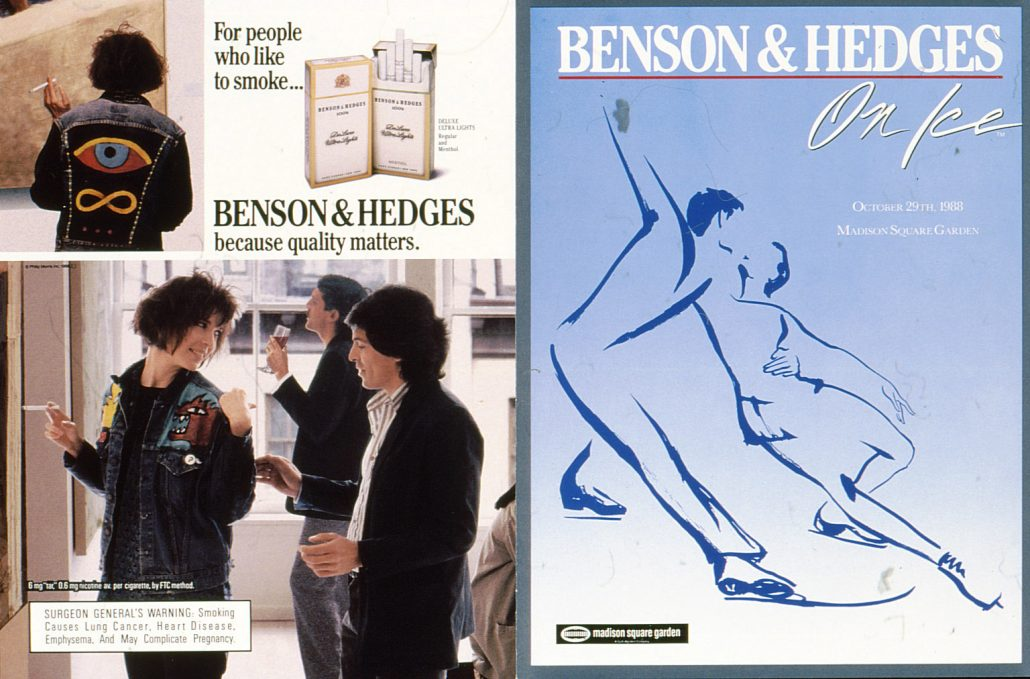 1988 BH On Ice Front Cover Ad