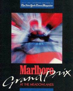 1989 NYT Mag supplement Marlboro Grand Prix