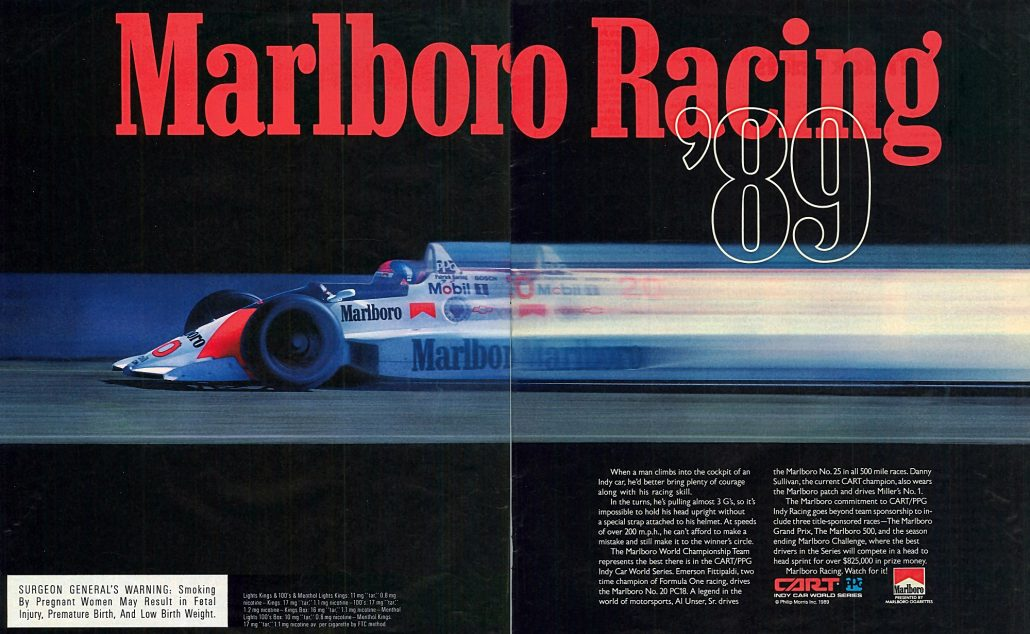 1989 NYT Mag supplement Marlboro Grand Prix interior Resize 50