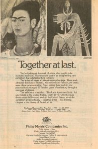1989 Togther at Last ad Philip Morris
