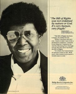 1990 NY Amsterdam News PM Bill of Rights Ad