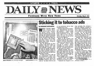 1991 Sticking it to tobacco ads