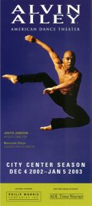 2003 Alvin Ailey at City Center Philip Morris