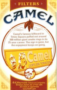 Camel Times Square pack