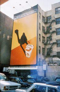 Camel abstract billboard