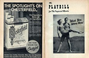 Chesterfield Playbill WishYouWereHere