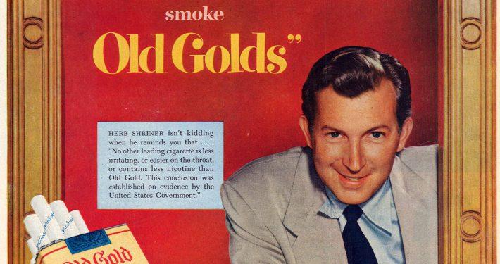 Herb Shriner for Old Gold