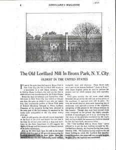 Lorillard Snuff Mill NY Botanical Garden Description Correspondence Resize 60