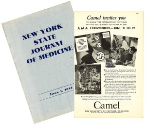 NYSJM 1942 Camel AMA ad  combined