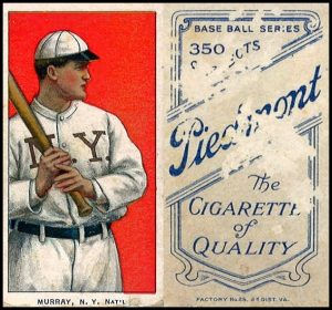 New York Baseball Trading Card 1