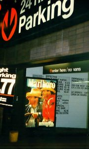 Parking Garage Marlboro ad