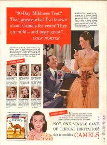 Patricia Morison Cole Porter for Camel