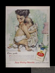 Philip Morris Ad Born Gentle wm