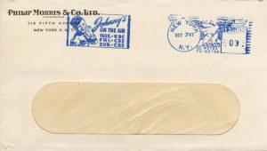Philip Morris envelope