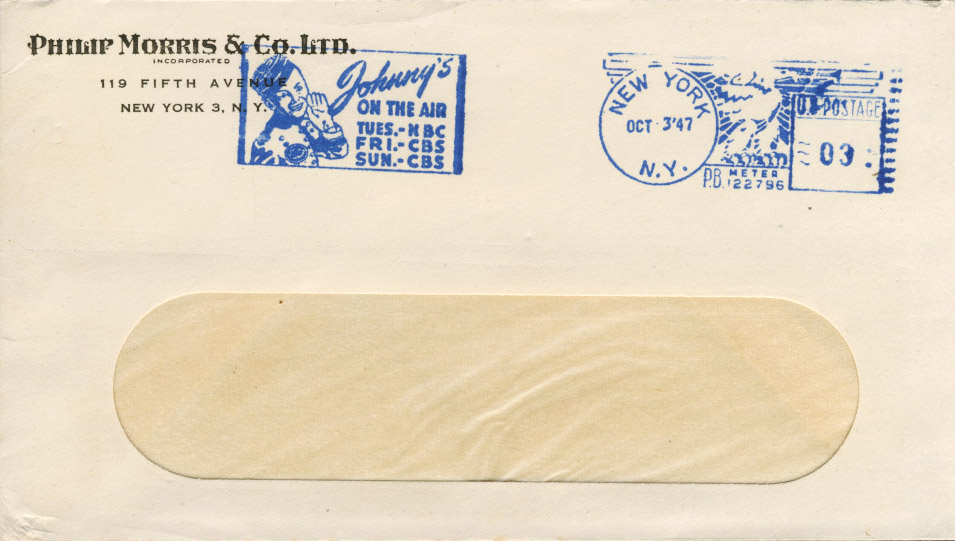 Philip Morris envelope